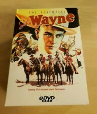 The Essential John Wayne 14 Film Movie Collection (8 Disc DVD Set 2003)