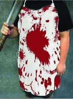 Bloody Apron Adult Costume Accessory Butcher Axe Murderer Prop Horror Scary