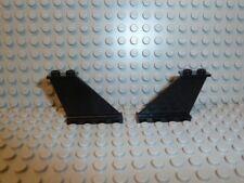 Lego ® Space Classic 2x Ailes Noir 4x1x3 tail 2340 6982 6199 6210 5581 k323