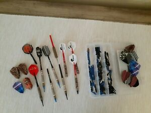 Vintage lot of Darts w/ tips** 3 unicorn