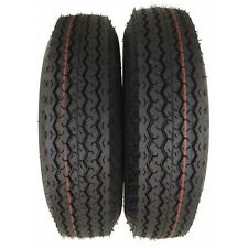"Set of 2 4.80-8 High Speed Trailer Tires LRC 6 Ply Free Shipping  4.80x8 8"" Tire"