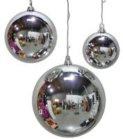 Acrylic Wine Glass Christmas Tree Ornaments Set x2 Designs Rose Gold