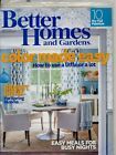 """BETTER HOMES & GARDENS MAR 2015 """"COLOR MADE EASY"""" + """"EASY MEALS FOR BUSY NIGHTS"""""""