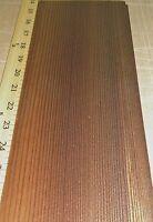 "Fumed European Larch wood veneer 5"" x 14"" raw no backing 1/42"" thickness sheet"