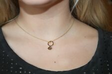 KATE SPADE 'kiss a prince' Engagement Ring Pendant Necklace