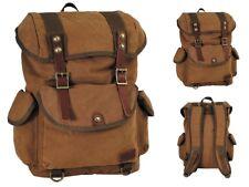 25 Liter Rucksack Retro Vintage Outdoor Canvas Backpack Bag Reisetasche Tasche
