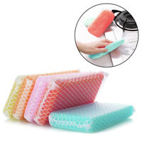 US_ 5Pcs Kitchen Dish Bowl Pot Washing Cleaning Sponge Pads Dirt Oil Removal Too
