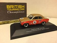 ATLAS / BTCC - FORD ESCORT MKI TWIN   - 1/43.SCALE - TOURING CARS COLLECTION