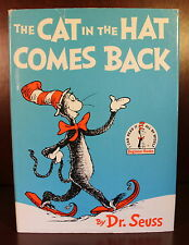 Dr. Seuss The Cat in the Hat Comes Back 1958 Second Edition Children's