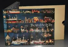 The Art of The Tin Toy Illustrated Boats Trains Cars Planes 1st Slipcase Signed
