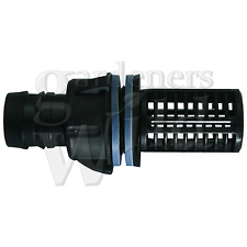 "TANK CONNECTOR + SCREEN 25mm 1"" bulkhead pipe fitting hydroponic aquarium fish"