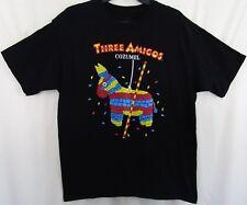 Three Amigos Cozumel Pinata Graphic T-Shirt Size Large Graph Black
