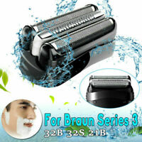 Replacement Foil Head for Braun Shaver Razor Series 3 Wet Dry 3040 3080 S3