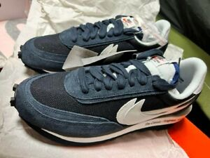 NIKE x SACAI LD Waffle Fragment Shoes New US10 Authentic From JAPAN
