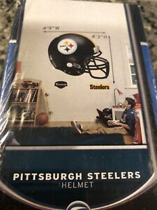Brand New PITTSBURGH STEELERS Helmet NFL FATHEAD Wall DECAL Graphic LIFE SIZE