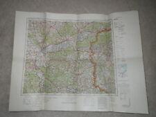 Karte 053 Frankfurt Oder - Ausgabe 1934 - 1:300.000 / Landkarte