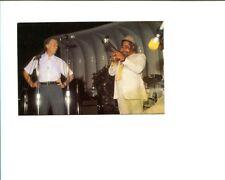 Jimmy Carter & Dizzy Gillespie White House Jazz Festival 1978 Photo Postcard