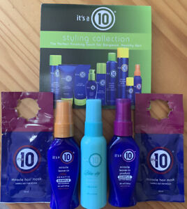 It's A 10 Miracle Leave In/Styling Bundle & Free Gift!