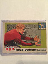 "1955 Topps - All American #81 ""Cotton"" Warburton"