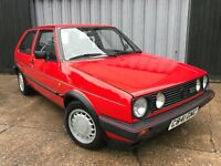 1985 Volkswagen Golf GTI mk2 *rare type 19**Mars red* everyday driveable classic