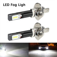 2x H1 800LM 6500K LED ampoules Phare Voiture Lumière blanches antibrouillard PA