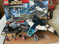 LEGO 76032 Marvel Super Heroes Avengers Quinjet City Chase 100% Complete w Box!