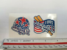 Los Angeles Dodgers MLB 2001 Logo Temporary Tattoos