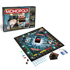 Hasbro B6677100 - Monopoly Banking Ultra, Immobilien, Familien Strategie Spiel
