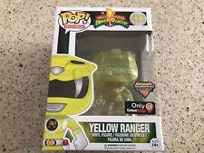 Power Rangers Yellow Ranger Transforming GameStop  Funko Pop