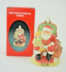 Santa's of the Nations - USA - Santa Claus #8907 - Hand Painted Figurine
