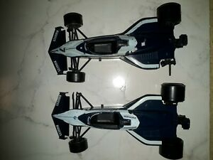 Lot 2 FORMULE F 1 VOITURE burago 1/24 brabham bmw parmalat #7 olivetti  car race