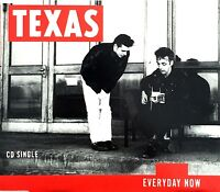 Texas ‎Maxi CD Everyday Now - Europe (EX/M)