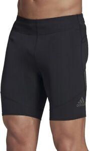 adidas Saturday Mens Short Running Tights - Black