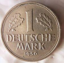 1950 F GERMANY DEUTSCHE MARK - Great Coin - FREE SHIP - GERMAN BIN #16
