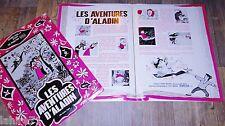LES AVENTURES D' ALADIN  mr. magoo dossier presse scenario cinema 1959