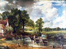 John Constable il Hay Wain Old Master DIPINTO PICTURE repro poster 1626omlv