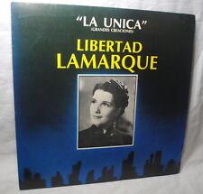 Libertad Lamarque, La Unica, Grandes Creaciones, LP record, ARGENTINA, scarce
