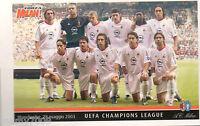 FOTO/CARTOLINA=MILAN CHAMPIONS LEAGUE 2002/03=MANCHESTER 28/5/2003=CM 15X10