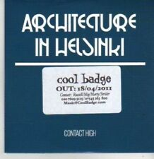 (BR114) Architecture In Helsinki, Contact High - DJ CD