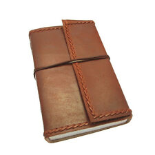 Fair Trade Handmade Extra Extra Large Eco Stitched Leather Journal Notebook