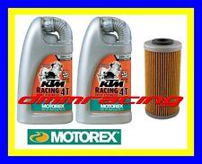 Kit Tagliando SHERCO SM 4.5 5.1 i F 04>10 Filtro Olio MOTOREX KTM RACING 20W/60