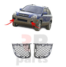FOR HYUNDAI TUCSON 2004 - 2009 NEW FRONT BUMPER LOWER MESH GRILLE PAIR SET