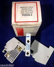 Heater Pack Cutler-Hammer Freedom Series H2006-3 2.05 - 3.03 AMP (set of 3)