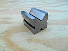 "MACHINISTS  V-BLOCK , 1-3/8"" x 1-3/8"" x 1-3/4"""