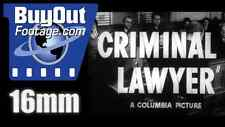 Criminal Lawyer, 1951 Film Trailer 16mm - Pat O'Brien, Jane Wyatt