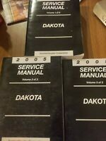 2005 Dodge Dakota Factory Service Shop Manuals Nice Condition