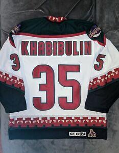 NIKOLAI KHABIBULIN CCM Phoenix Coyotes Jersey Large NHL Arizona Lightning