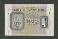 More details for british military authority  1 sh  wwii  krause m2  about ef  banknotes