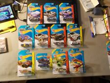 2014 HOT WHEELS TREASURE HUNT LOT OF 11 DIFFERENT POISON ARROW STOCKCAR SUBARU