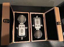Pair of (2) Sontronics Orpheus Large Diaphragm Condenser Microphones